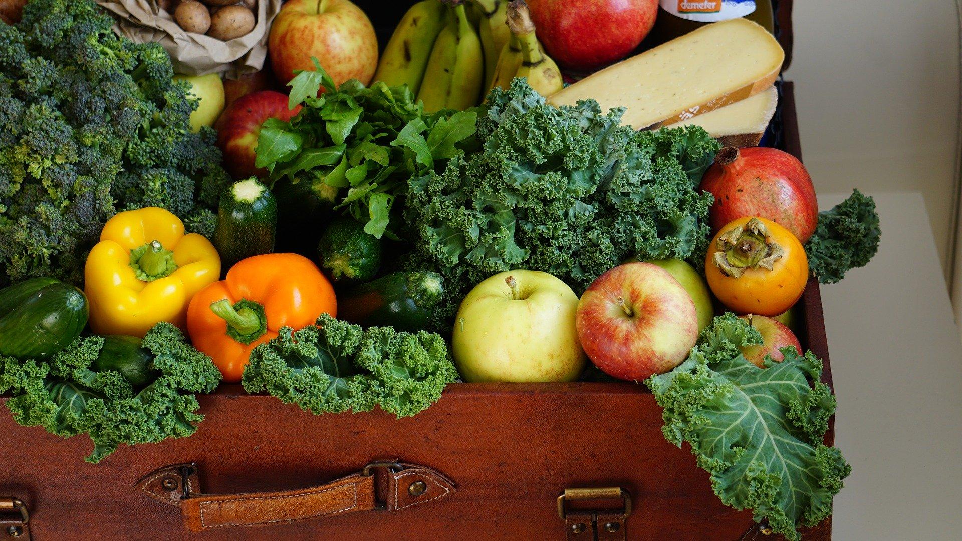 Vegetarisch auf der Speisekarte