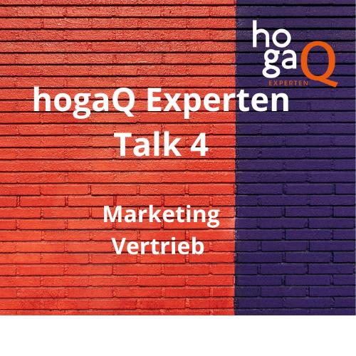 4. Experten Talk – Marketing und Vertrieb