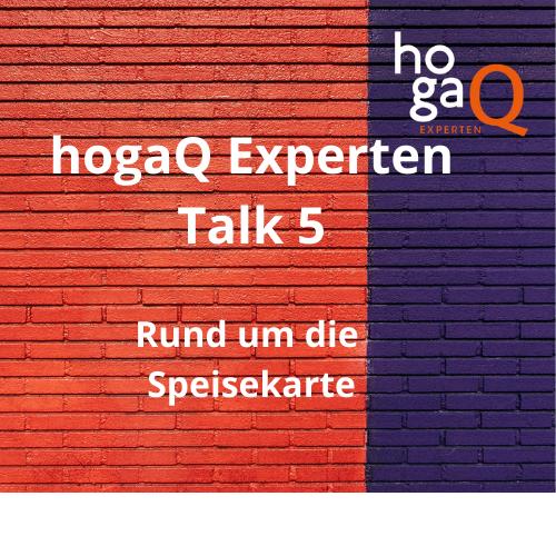 5. Experten Talk – Speisekarte